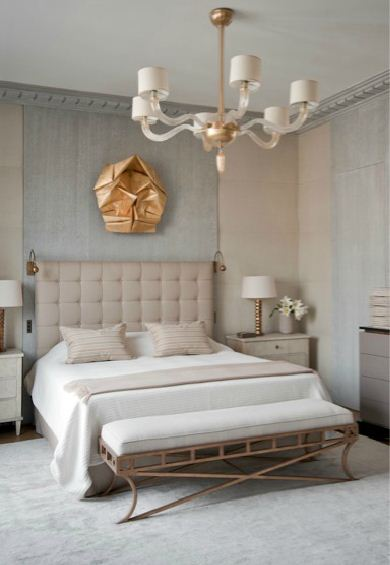 Jll design designer feature jean louis deniot for Grey and neutral bedroom