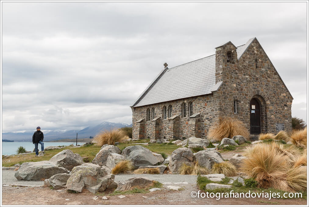Good Shepherd en lago Tekapo