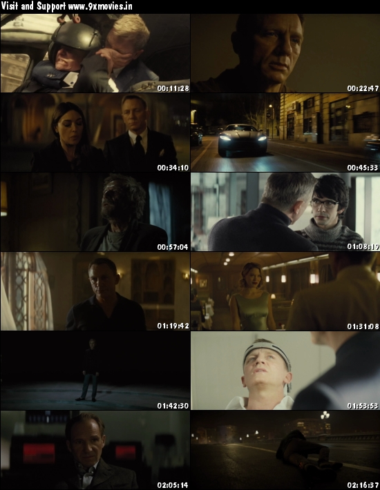 Spectre 2015 Dual Audio ORG Hindi 480p BluRay 400mb