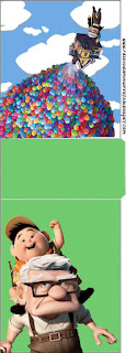 Fiesta de Up: Etiquetas para Candy Bar para Imprimir Gratis.