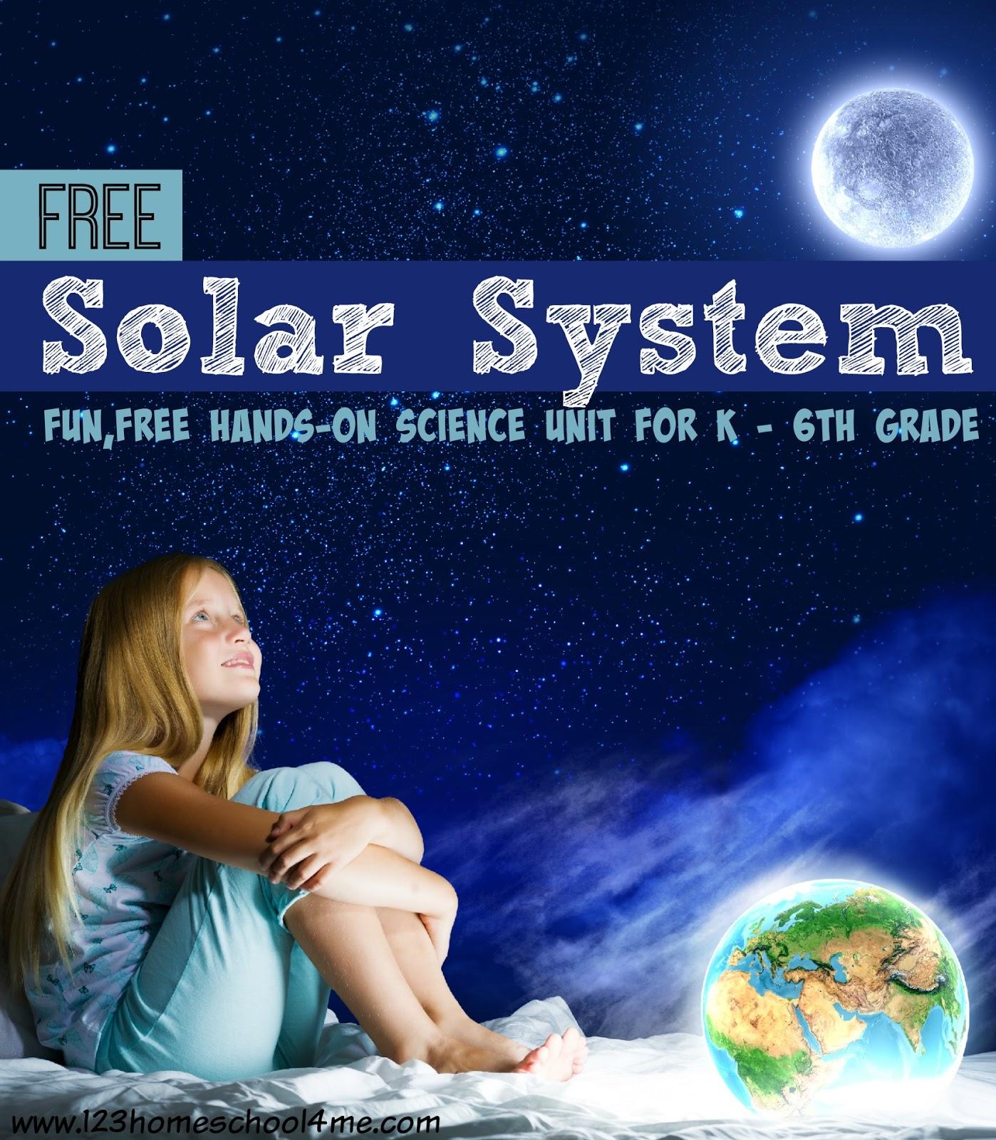 Printables 6th Grade Homeschool Worksheets solar system worksheets for kids