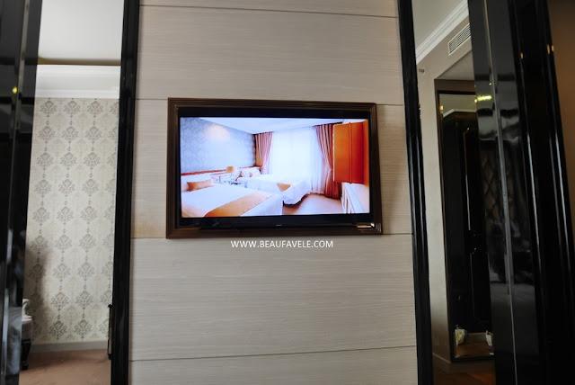 Fasilitas kamar di Park View Hotel Bandung