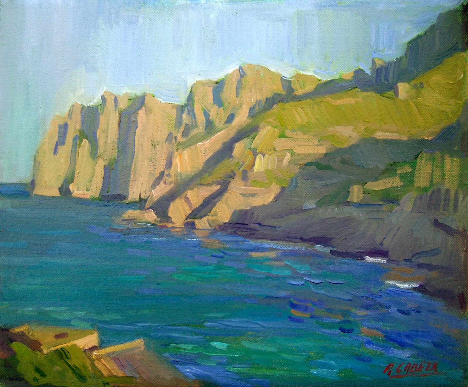 Alejandro Cabeza, Pintores Valencianos, Mallorca en pintura