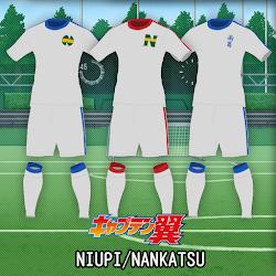 CAPTAIN TSUBASA - Niupi/Nankatsu Kits