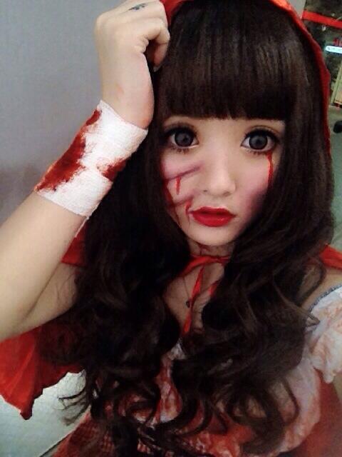 halloween gyaru