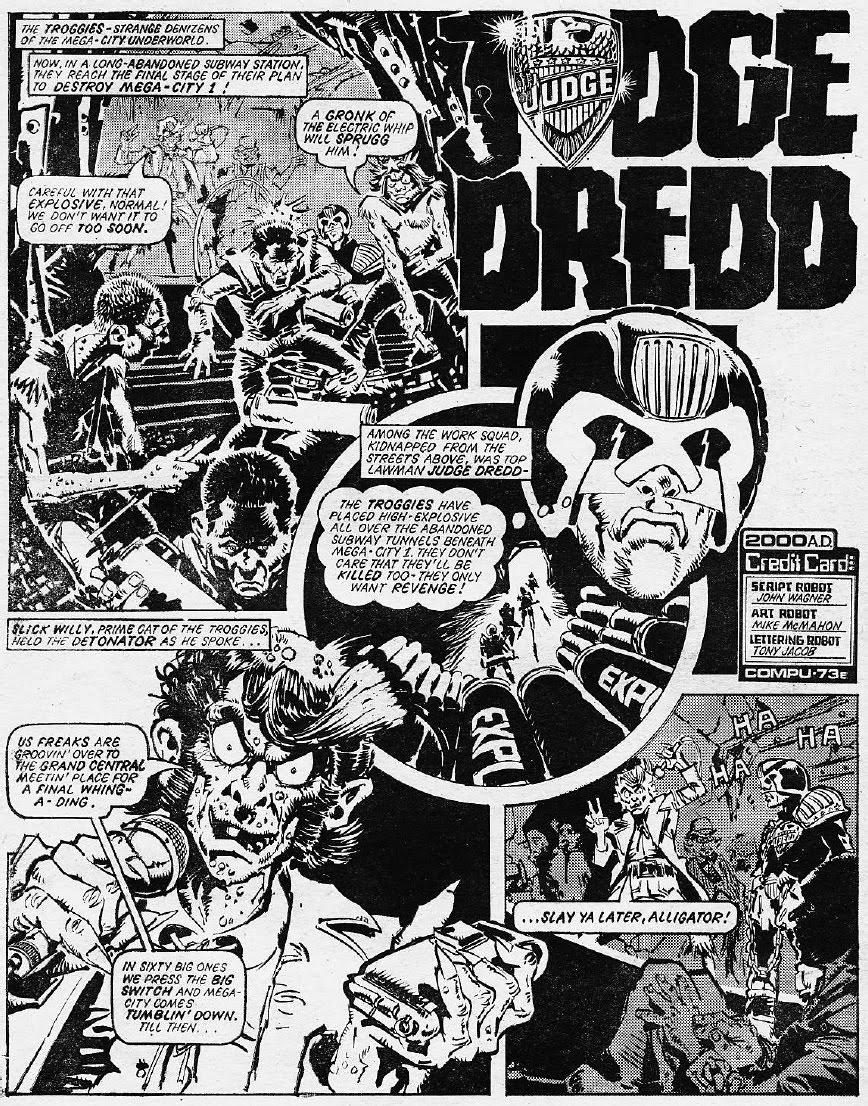 Dredd Alert Judge Dredd The Troggies Part 2