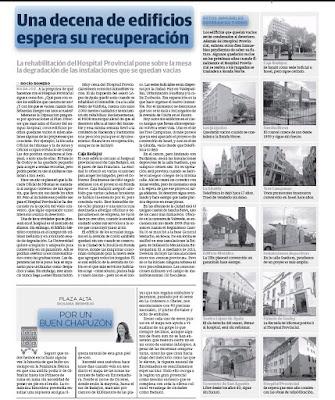 Edificios abandonados Casco Antiguo Badajoz