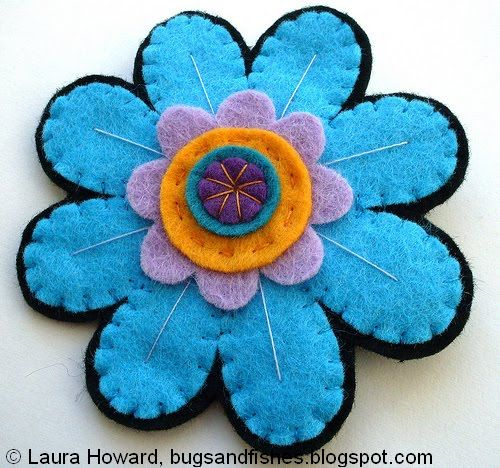 Bugs And Fishes By Lupin: How To: Design And Make A Felt