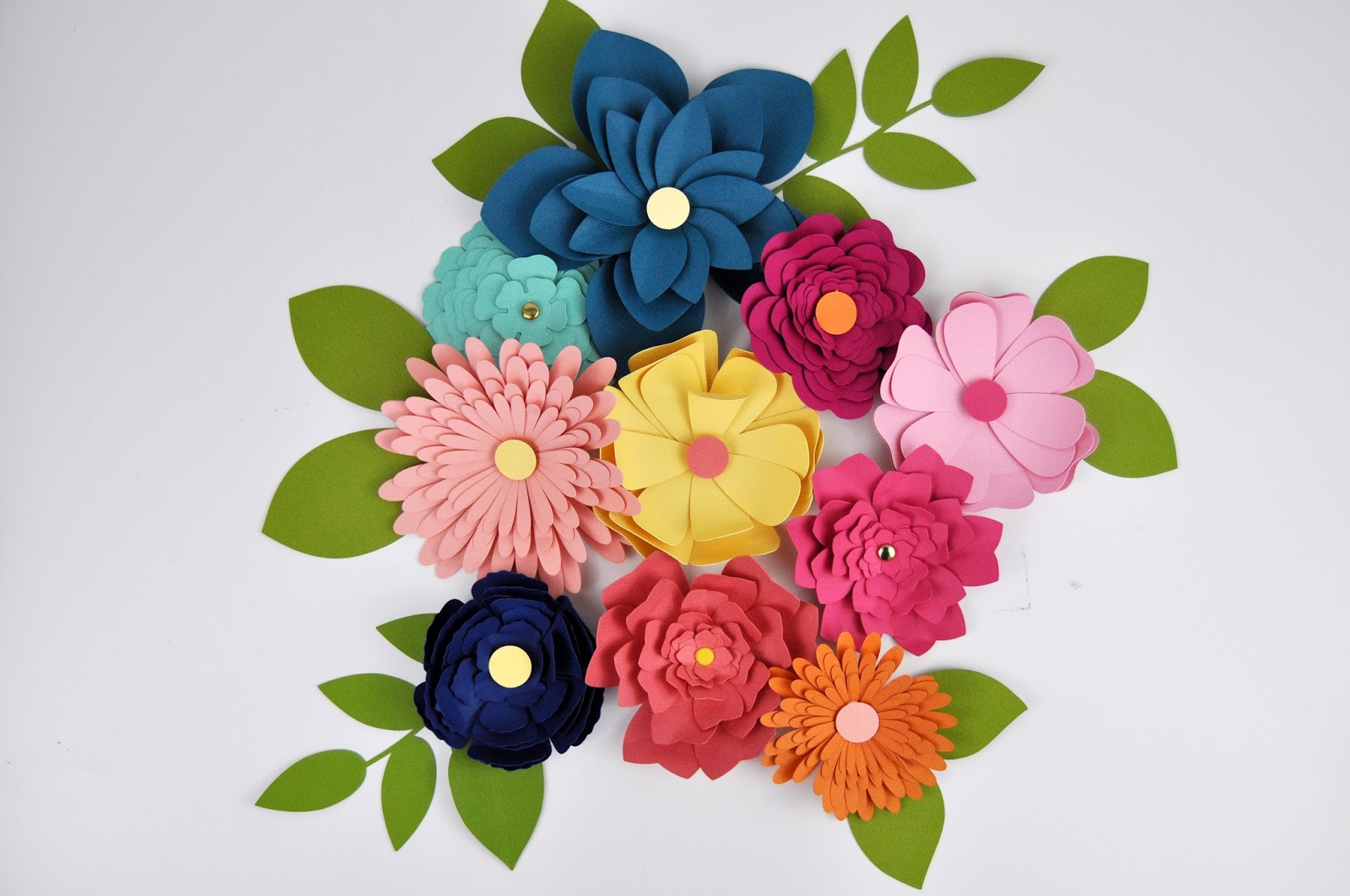 My Favorite Paper Flower Cut Files Jen Gallacher
