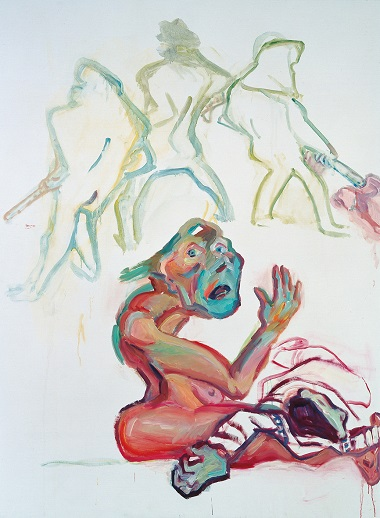 by Maria Lassnig - Die Trauer - 2003