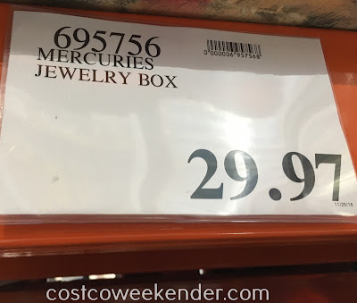 Deal for the Mercuries Jewelry Box at Costco
