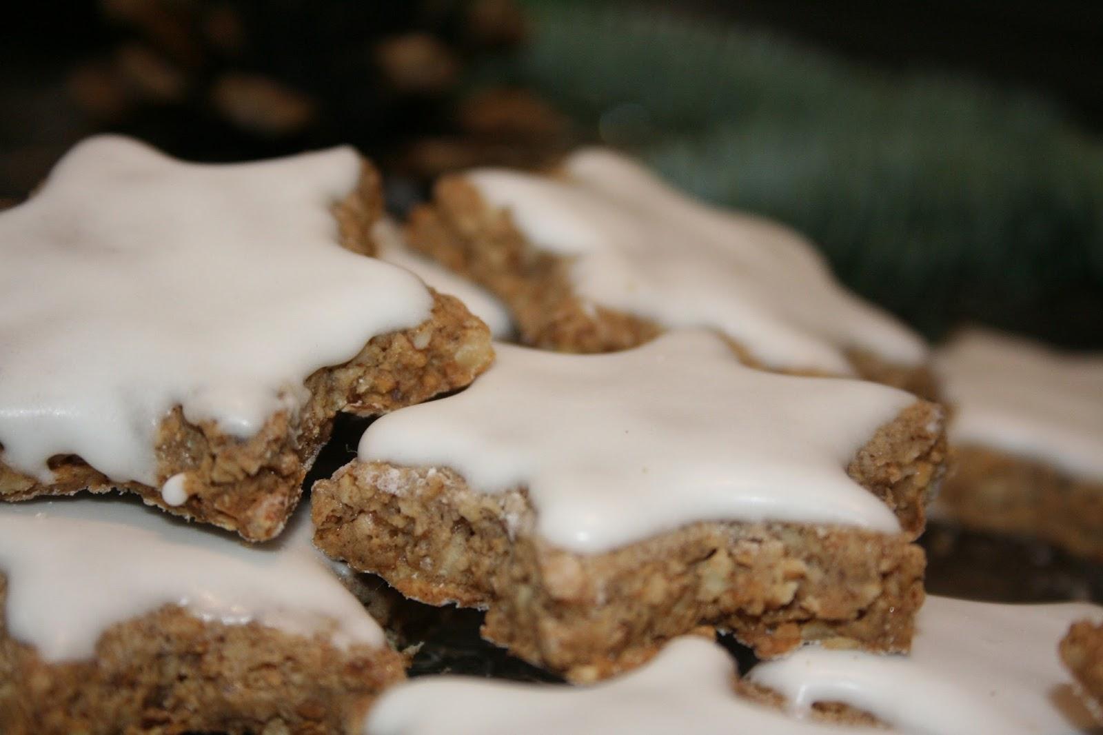 Biscotti Di Natale Zimtsterne.In Cucina Con Francy 2016