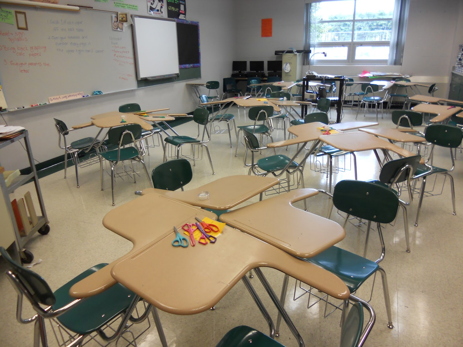And Something That Research Says Is Beneficial To Students I Decided Put Their Rows Of Desks Into Groups Four They Re In The Star Pattern