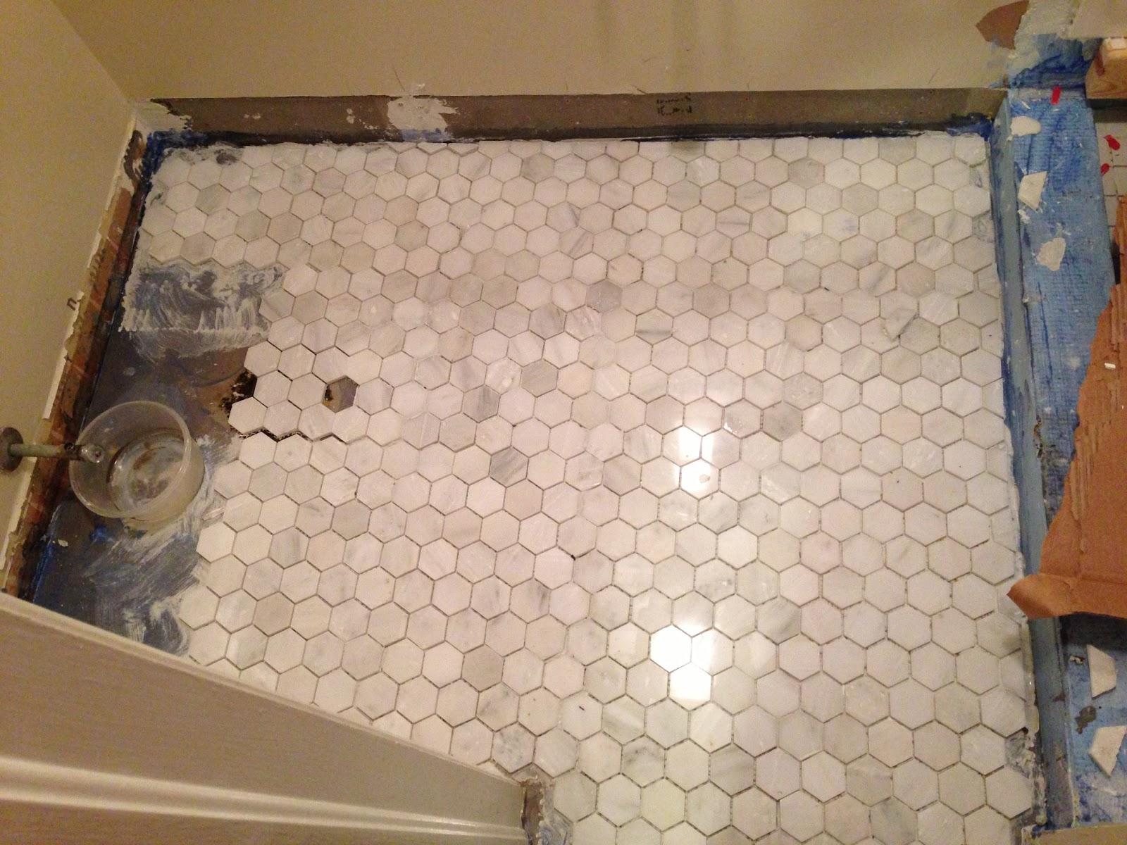 The Shields Family Bathroom Reno Part 3 Tile
