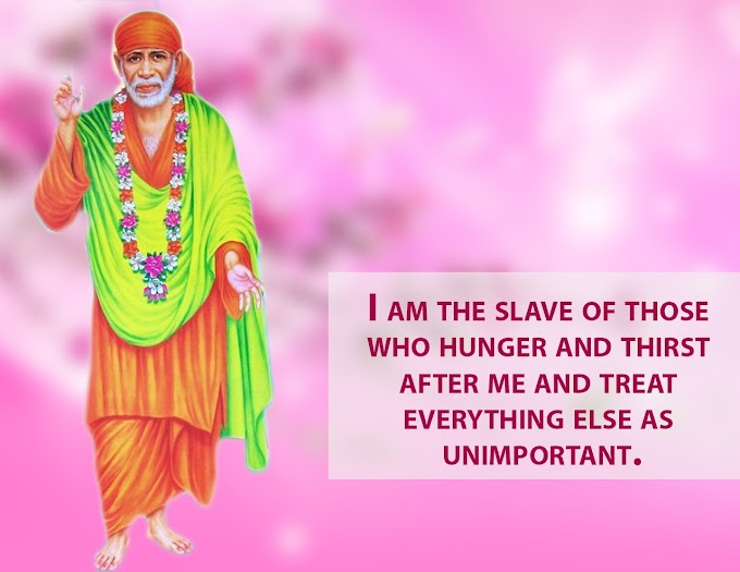 Shirdi Sai Baba Blessed Me With A Suitable Alliance Proposal