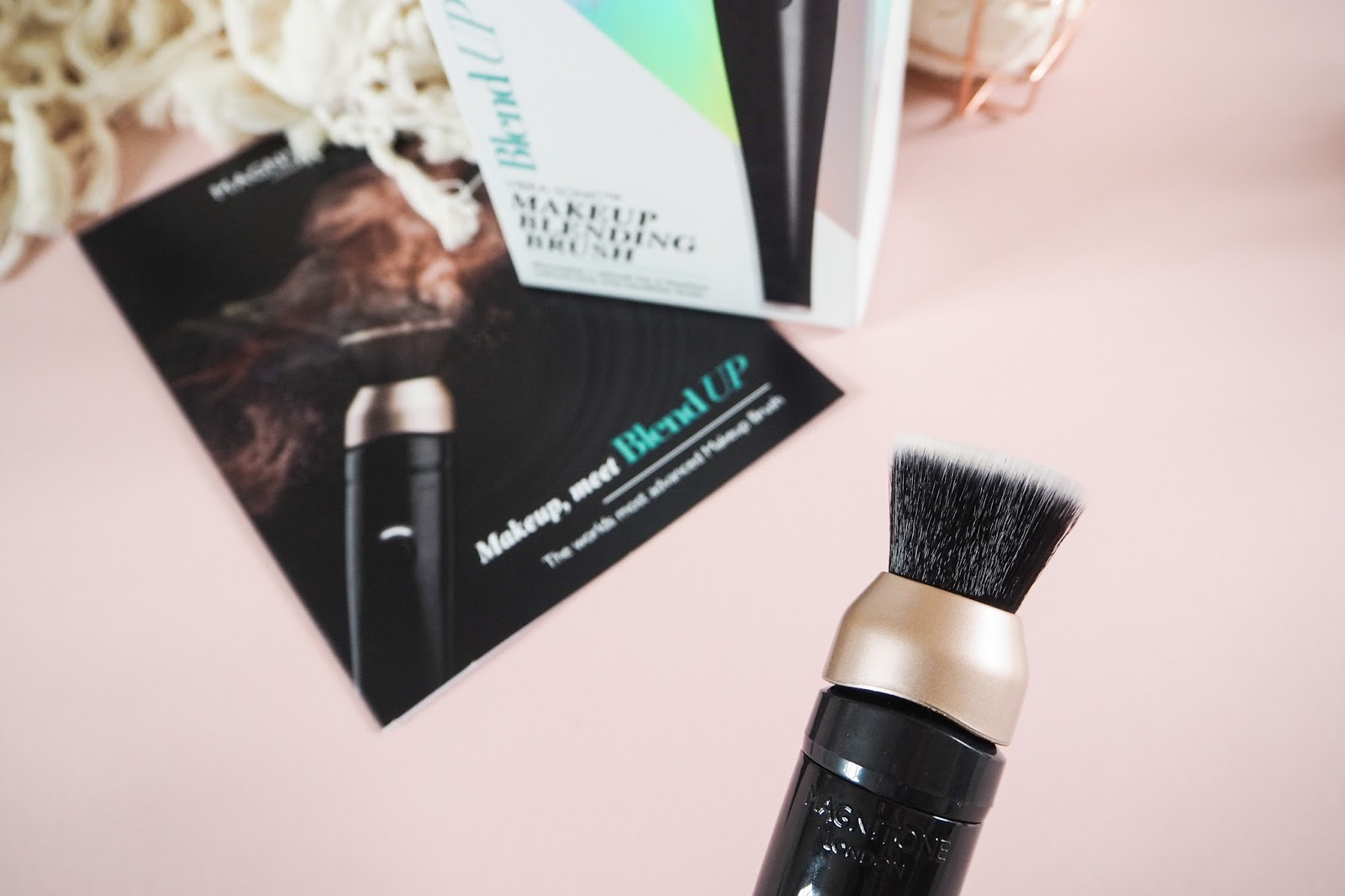 Magnitone BlendUp Vibra-Sonic Makeup Blending Brush Review