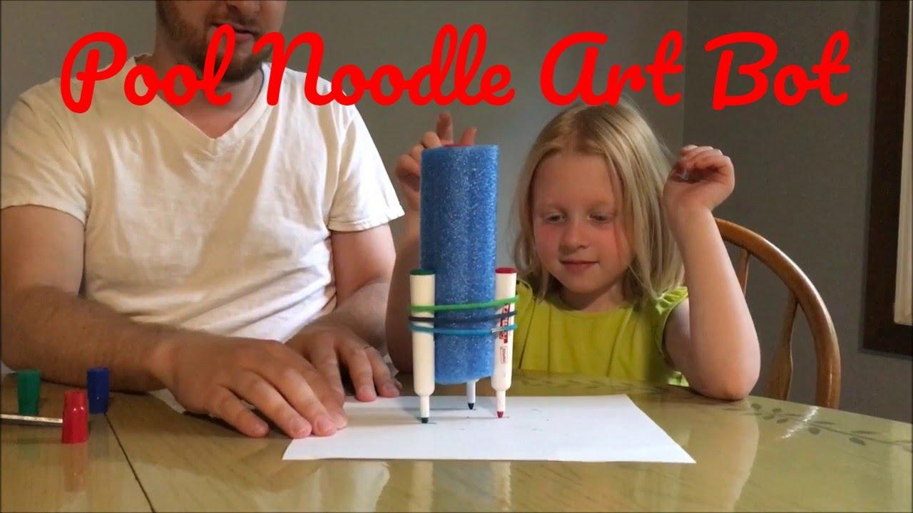 Program 34: ArtBots! | Pool noodles, Dollar stores and Noodle  |Art Bot Pool Noodle