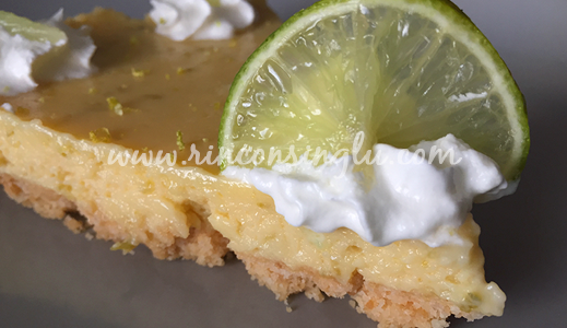 receta de key lime pie sin gluten