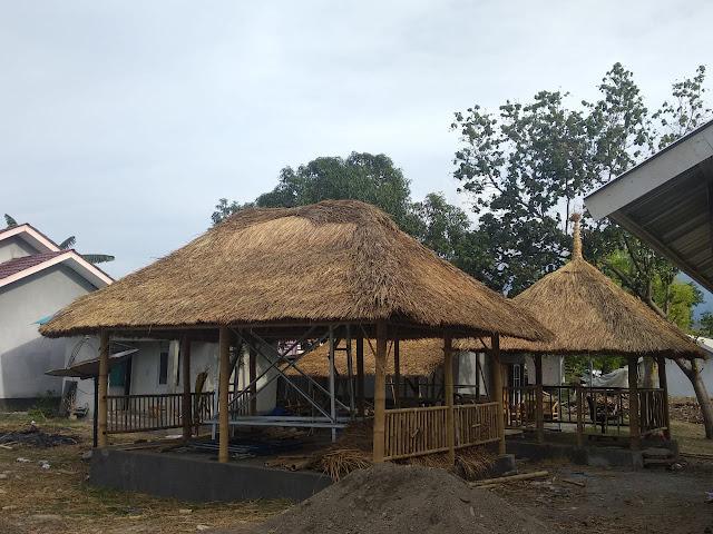 Pengerjaan Fasos dan Fasum di Lombok Ditargetkan Selesai Awal Desember