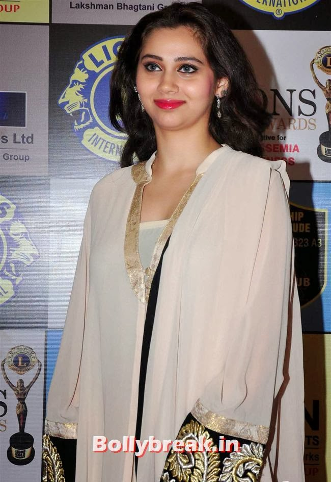 Sasha Agha, Celebs at Lions Gold Awards 2014