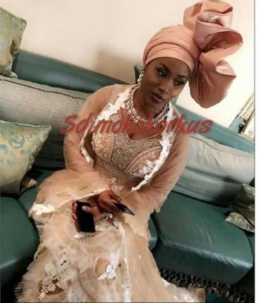 Stella Dimoko Korkus.com: Halima Babangida Weds Auwal ...  Stella Dimoko K...