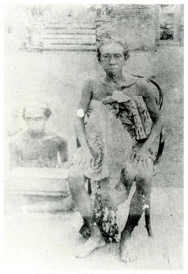 King of Gianyar Empire 1896-1913 - Dewa Manggis VIII - Dewa Gde Raka