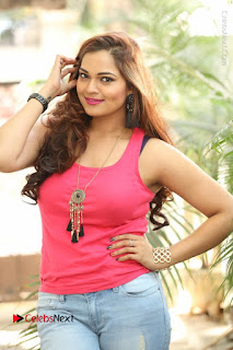 Tollywood Actress Ashwini Latest Stills in Ripped Jeans  0012.JPG