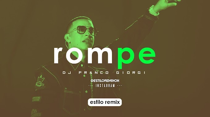 Daddy Yankee - Rompe (Dj Franco Giorgi)