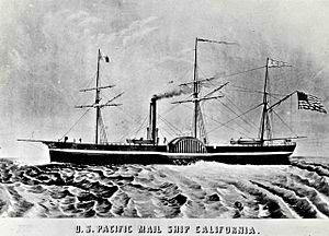 ss california steam ship