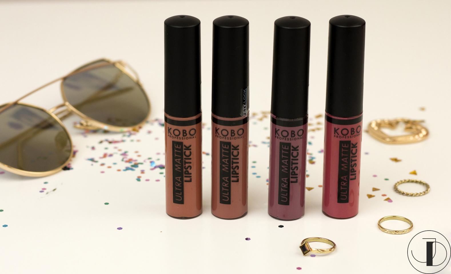 KOBO PROFESSIONAL - Ultra Matte Lipstick - recenzja