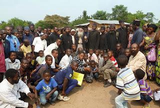 ИПЦ Греции: Посещение епископа Амвросия Мефонского приходов Конго. ФОТО