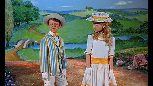 Mary Poppins Walt Disney film 1964 animatedfilmreviews.filminspector.com