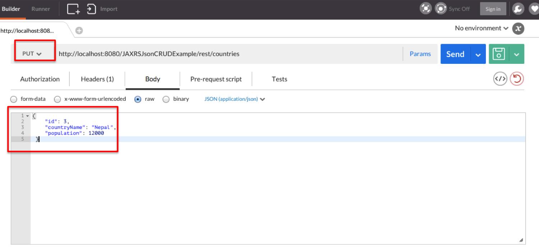 RESTful web services JAXRS CRUD example using jersey - Java2Blog