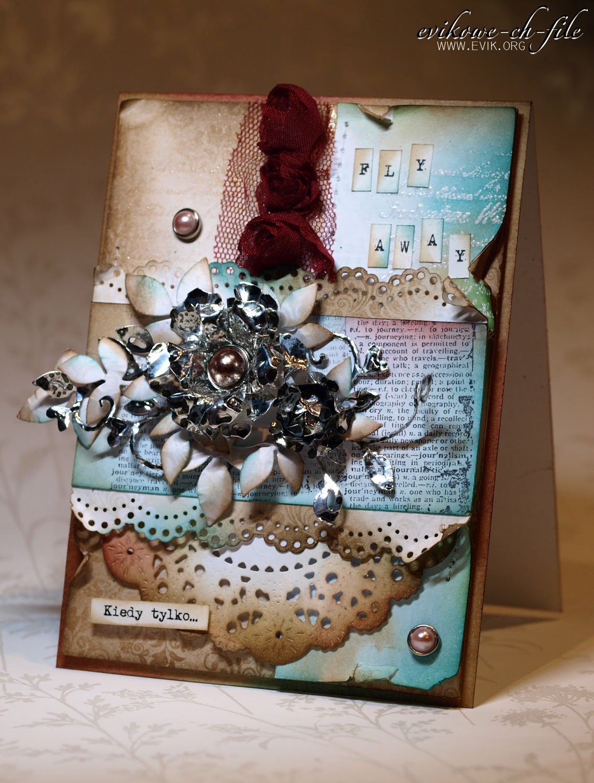 tim holtz tattered florals