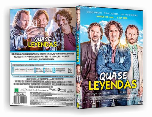 DVD-R Quase Lendas – AUTORADO
