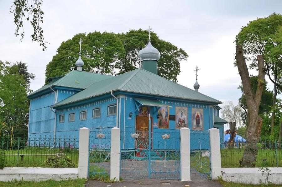 Храм. Село Вересы