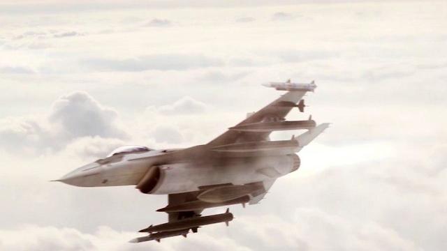 Sebuah Pesawat tidak Dikenal Serang Timur Suriah