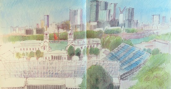 Travels With A Sketchbook In Greenwich Heritage