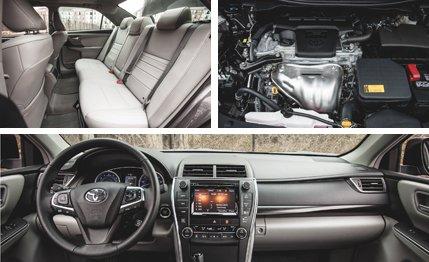 2015 Toyota Camry Black 2.5L