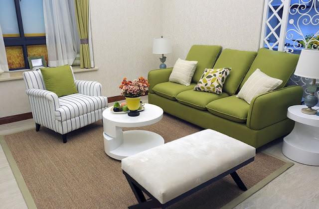 Desain Interior Ruang Tamu 3x3 elegan