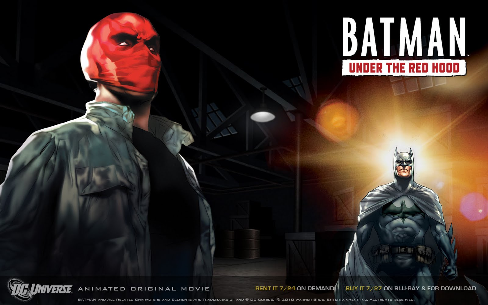 Batman: Under The Red Hood 300Mb Movie