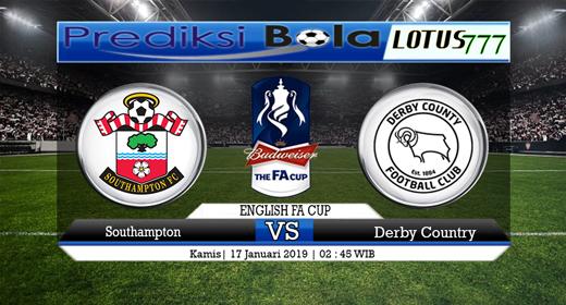 Prediksi Southampton vs Derby County 17 Januari 2019