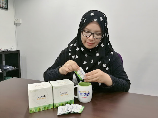 SweetRoyale Stevia Sweetener Pengganti Gula
