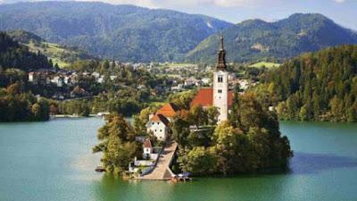 Castillo y lago de Bled
