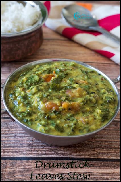 Drumstick Leaves Stew Recipe | Murungai Keerai Kootu Recipe