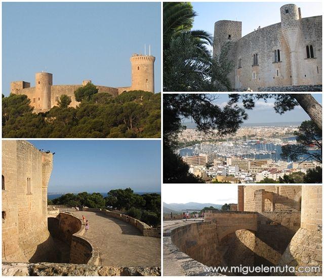 Castillo-Bellver-Mallorca