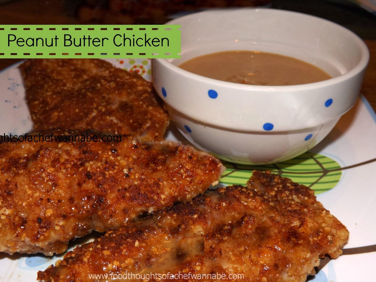 Foodthoughtsofachefwannabe Peanut Butter Chicken