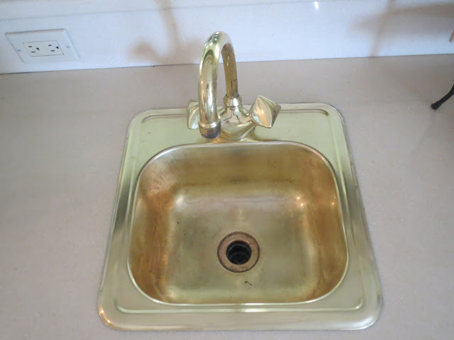 spray paint kitchen sink gates of spray painting a brass sink 5659