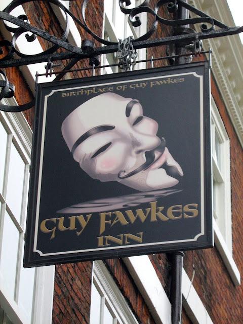 York Guy Fawkes