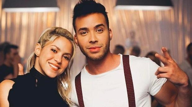 Shakira sorprende bailando una rómantica bachata con Prince Royce